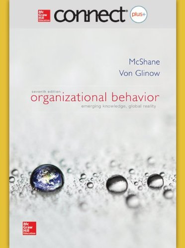 ORGANIZATIONAL BEHAVIOR-CONNECT PLUS    N/A edition cover