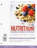 Nutrition + Masteringnutrition With Mydietanalysis With Etext Access Card: From Science to You; Books a La Carte Edition  2015 edition cover