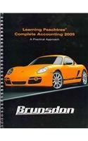 Learning Peachtree Complete Accounting 2009 and CD Peachtree Complete 2009 Package  3rd 2010 9780135103210 Front Cover