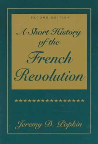 Short History of the French Revolution 2nd 1998 edition cover