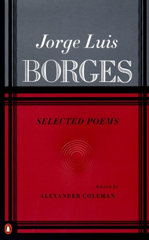 Jorge Luis Borges - Selected Poems   1999 edition cover