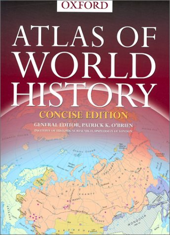 Concise Atlas of World History   2002 edition cover