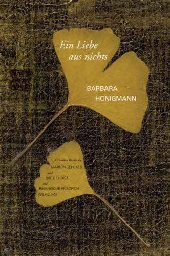 Liebe Aus Nichts A German Reader  2010 edition cover