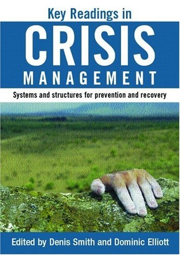 Key Readings in Crisis Management Systems and Structures for Prevention and Recovery  2004 edition cover