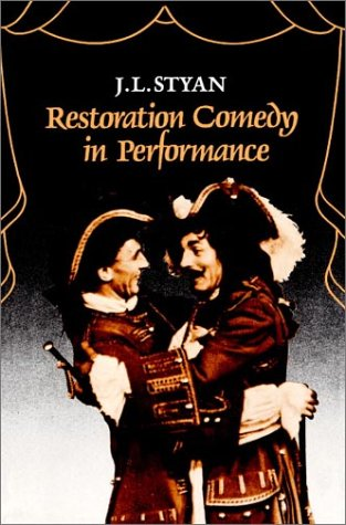 Restoration Comedy in Performance   1986 edition cover