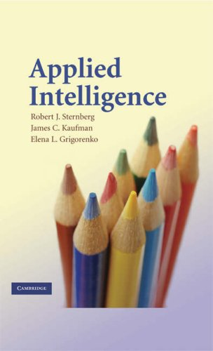 Applied Intelligence   2008 edition cover