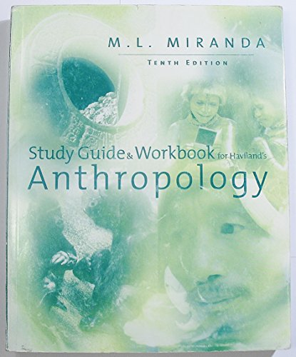Sg-Anthropology 10th 2003 9780534610210 Front Cover