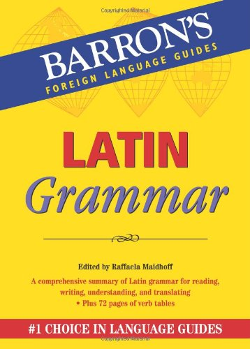 Latin Grammar   2011 edition cover