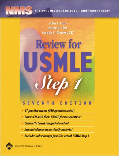 Review for USMLE  7th 2006 (Revised) edition cover