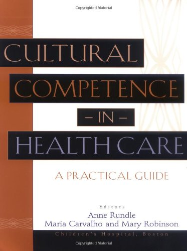 Cultural Competence in Health Care A Practical Guide 2nd 2002 edition cover