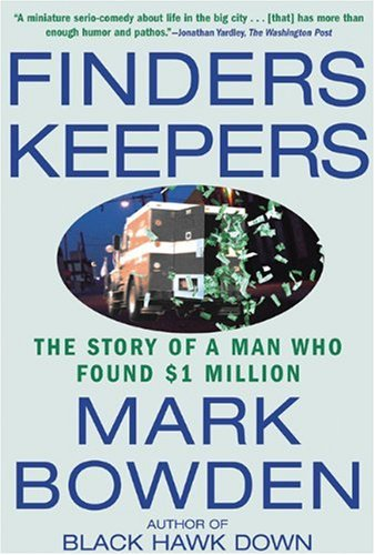 Finders Keepers The Story of a Man Who Found $1 Million N/A edition cover