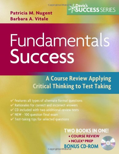 Fundamentals Success A Course Review Applying Critical Thinking to Test Taking 2nd 2008 (Revised) edition cover