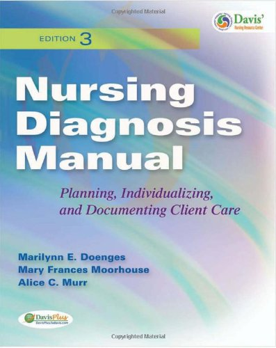 Nursing Diagnosis Manual Planning, Individualizing, and Documenting Client Care 3rd 2010 (Revised) edition cover
