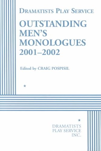 Outstanding Men's Monologues 2000-2001  N/A 9780822218210 Front Cover