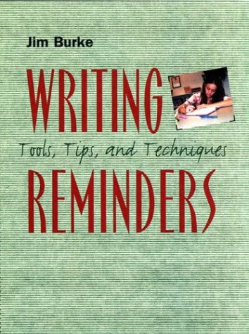 Writing Reminders Tools, Tips, and Techniques  2003 edition cover
