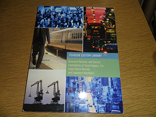 RESEARCH METHODS+SOCIETY       N/A 9781269245210 Front Cover