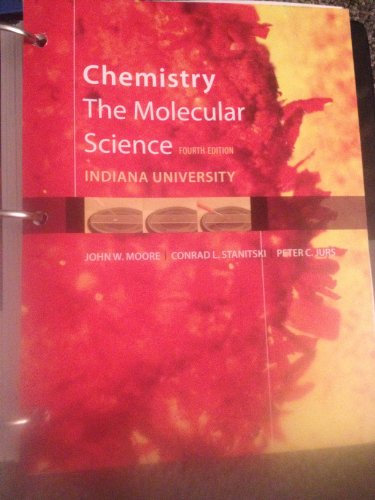 CHEMISTRY:MOLECULAR SCI.>CUSTO N/A 9781285126210 Front Cover