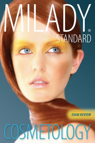 Exam Review for Milady Standard Cosmetology 2012  12th 2012 edition cover