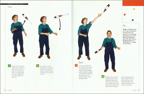 Pathways in Juggling Learn How to Juggle with Balls, Rings, Clubs, Devil Sticks, Diabolos and Other Objects N/A 9781552091210 Front Cover