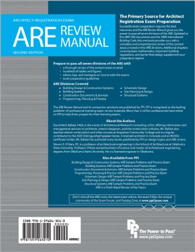 ARE Review Manual  2nd edition cover