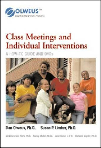 Class Meetings and Individual Intervention: A Video Training Program for School Staff  0 edition cover