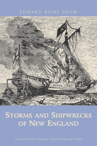 Storms and Shipwrecks of New England  N/A 9781933212210 Front Cover