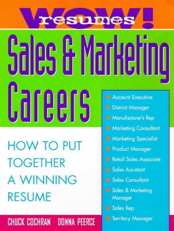 Wow! Resumes for Sales and Marketing Careers   1998 9780070120211 Front Cover