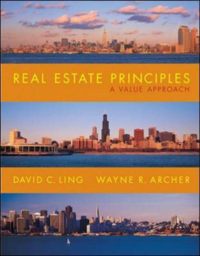 Real Estate Principles A Value Approach 2nd 2008 (Revised) edition cover