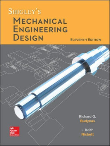 Cover art for Shigley's Mechanical Engineering Design, 11th Edition