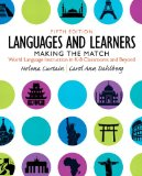 Languages and Learners Making the Match, World Language Instruction in K-8 Classrooms and Beyond 5th 2016 edition cover