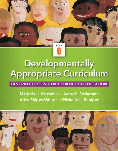 Developmentally Appropriate Curriculum: Best Practices in Early Childhood Education, Video-enhanced Pearson Etext Access Card  2014 edition cover