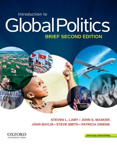 Introduction to Global Politics:   2013 edition cover