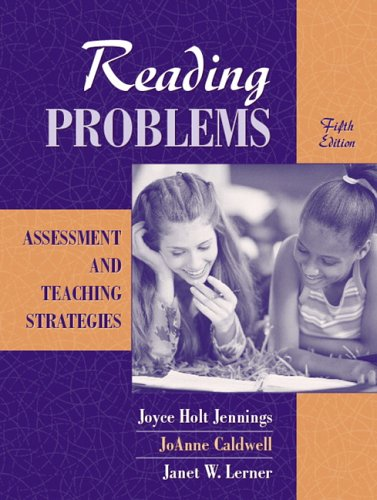 Reading Problems Assessment and Teaching Strategies 5th 2006 (Revised) 9780205441211 Front Cover