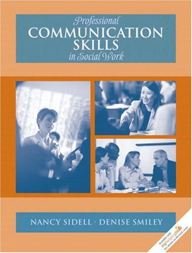 Professional Communication Skills in Social Work   2008 edition cover