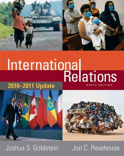 International Relations 2010-2011  9th 2011 (Revised) edition cover