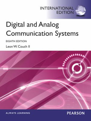 Digital and Analog Communication Systems International Edition 8th 2012 (Revised) 9780273774211 Front Cover