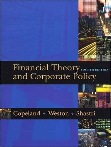 Financial Theory and Corporate Policy  4th 2005 (Revised) edition cover