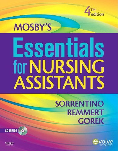 Mosby's Essentials for Nursing Assistants  4th 2010 edition cover