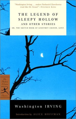 Legend of Sleepy Hollow and Other Stories Or, the Sketch Book of Geoffrey Crayon, Gent  2001 edition cover
