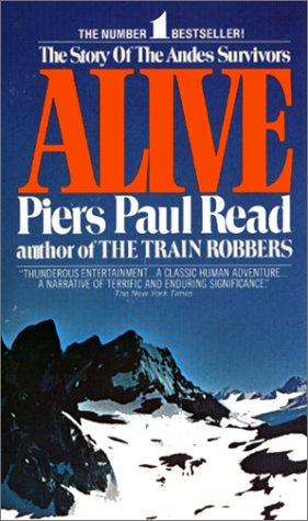 Alive The Story of the Andes Survivors  1974 edition cover
