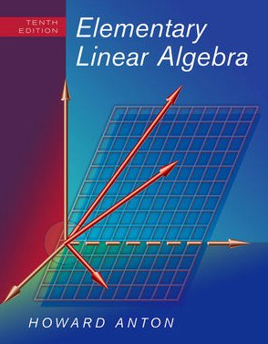 Elementary Linear Algebra  10th 2010 edition cover