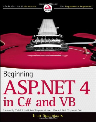 ASP.NET 4.0 In C# and VB  2010 edition cover