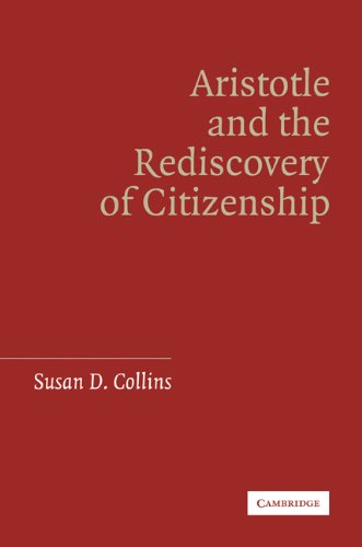 Aristotle and the Rediscovery of Citizenship  N/A edition cover