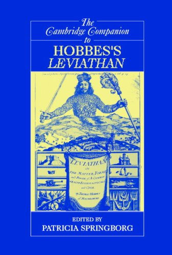 Cambridge Companion to Hobbes's Leviathan   2007 9780521545211 Front Cover