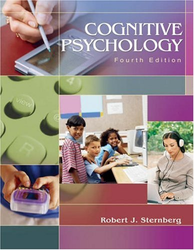 Cognitive Psychology  4th 2006 edition cover
