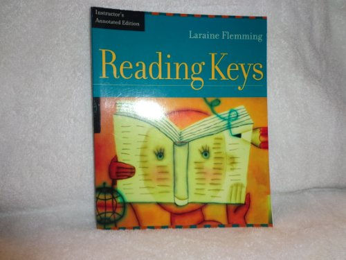 READING KEYS-W/CD >INSTRS.ANNO 1st 9780618131211 Front Cover