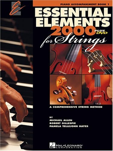 Essential Elements 2000 for Strings Piano Accompaniment Book 1 N/A edition cover