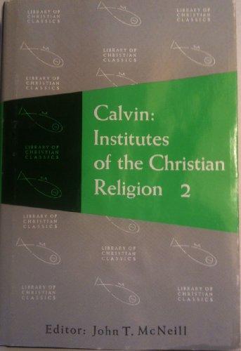 INSTITUTES OF CHRISTIAN RELIGI 1st 9780664220211 Front Cover