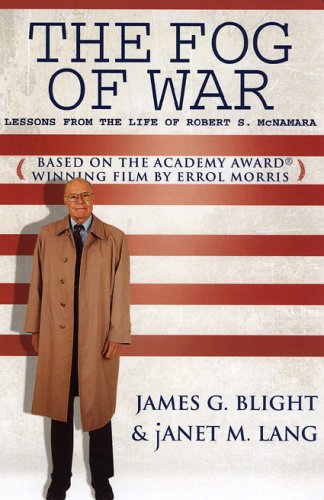 Fog of War Lessons from the Life of Robert S. McNamara  2005 edition cover