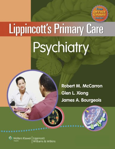 Lippincott's Primary Care Psychiatry   2009 edition cover